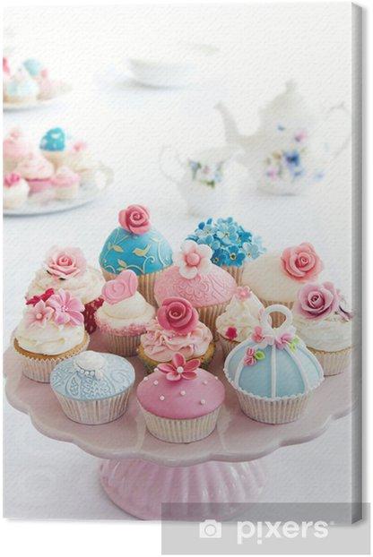 Tableau sur toile Petits gateaux - Desserts et friandises