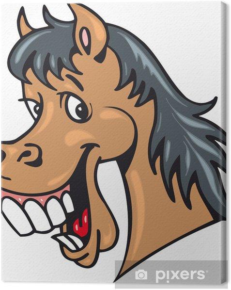 Tableau sur toile Pferd - Mammifères