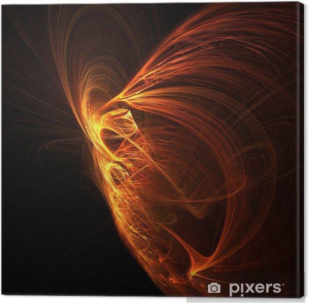 Tableau sur toile Phoenix Fire. - Arrière plans