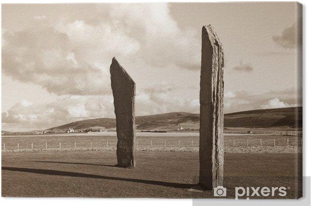 Tableau sur toile Pierres debout, Orkney - Europe