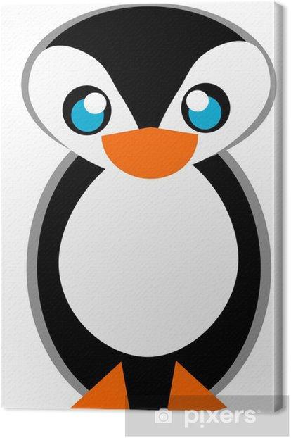 Tableau sur toile Pingouin - Oiseaux
