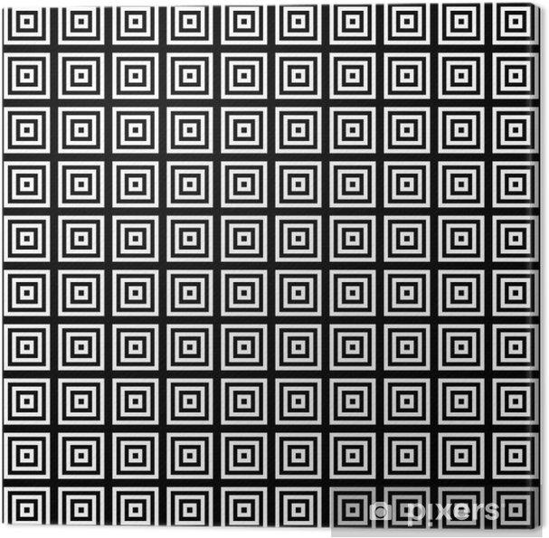 Tableau sur toile Place dans la tuile carrée, seamless - Arrière plans