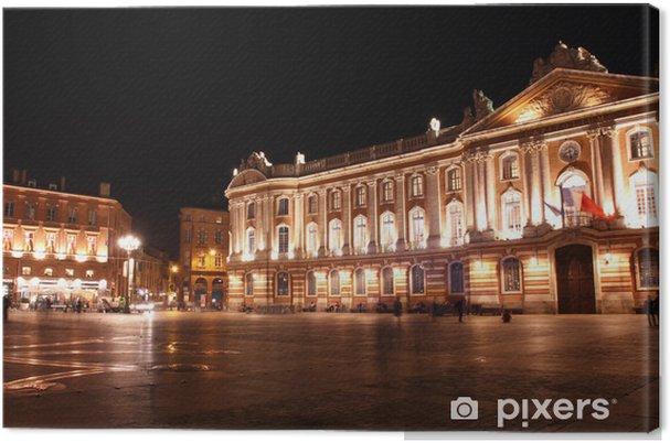 Tableau sur toile Place du Capitole à Toulouse - Paysages urbains