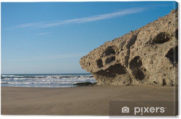 Tableau sur toile Plage Monsul à Cabo de Gata - Europe