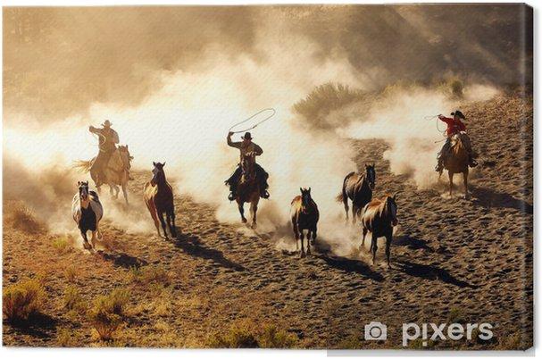 Tableau sur toile Plaisir Cowboy - Thèmes