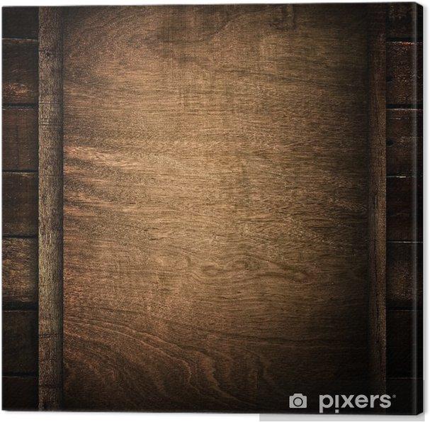 tableau sur toile planche de bois vieux pixers nous vivons pour changer. Black Bedroom Furniture Sets. Home Design Ideas