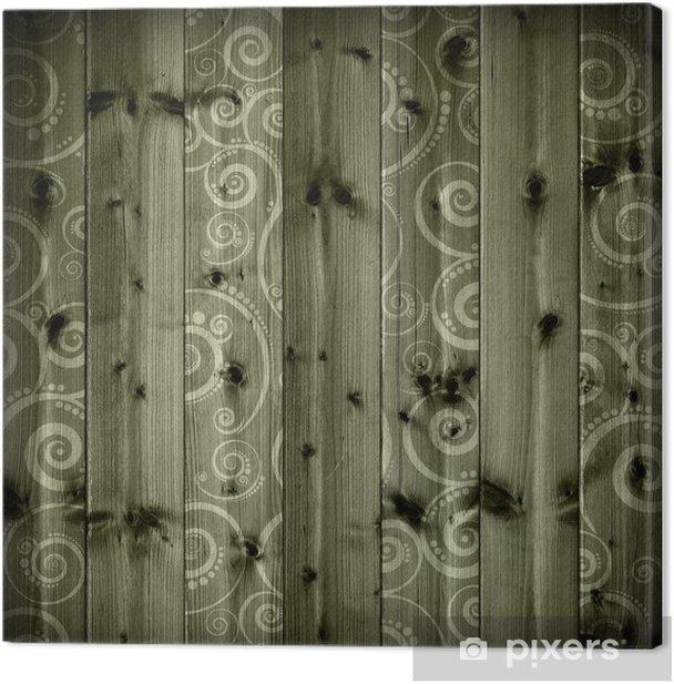 Tableau sur toile Planches en bois fond - Arrière plans