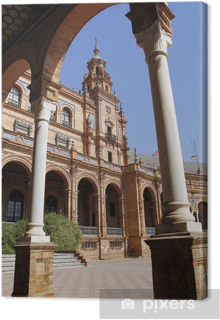 Tableau sur toile Plaza España, Séville - Europe