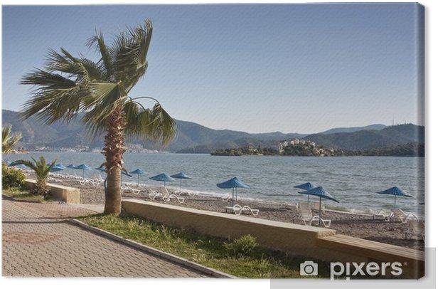 Tableau sur toile Plaża w Calis, Turcja - Vacances
