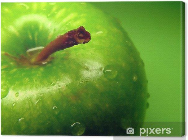 Tableau sur toile Pomme verte - Thèmes