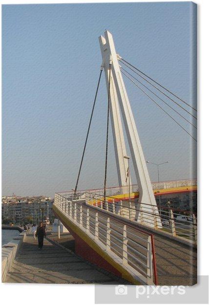 Tableau sur toile Pont Goztepe Izmir 2 - Moyen Orient