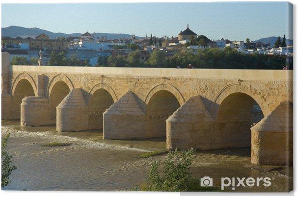 Tableau Sur Toile Pont Romain De Cordoue Espagne