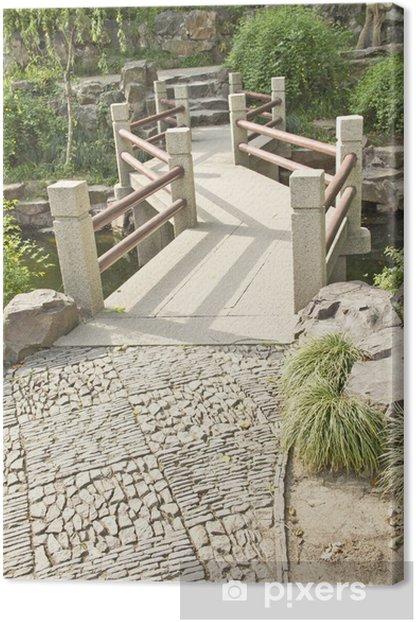 Tableau sur toile Pont traditionnelle asiatique - Asie