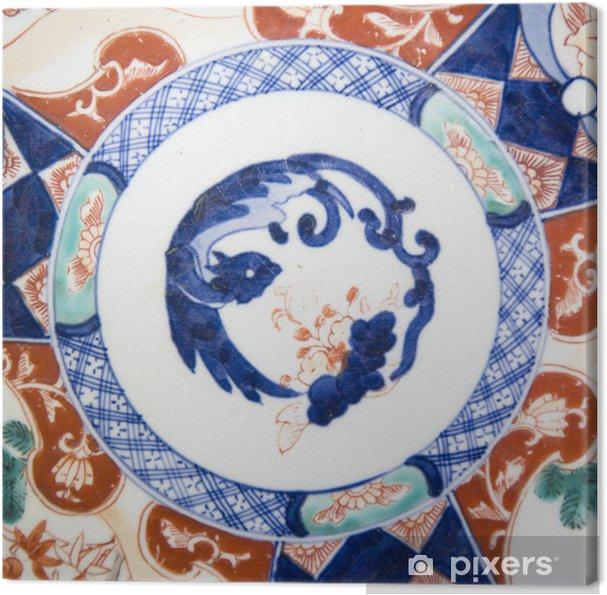 Tableau sur toile Porcelaine japonaise - Accessoires