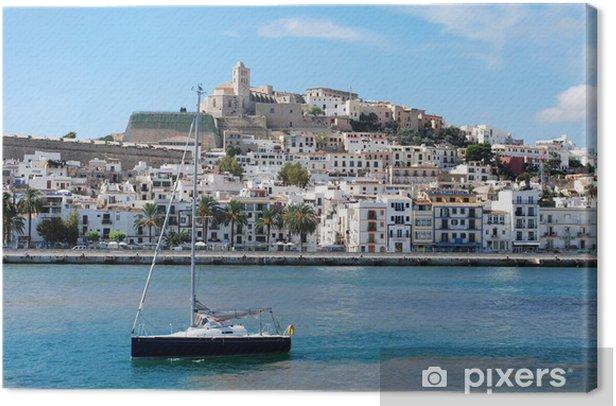 Tableau sur toile Port d'Ibiza - Europe