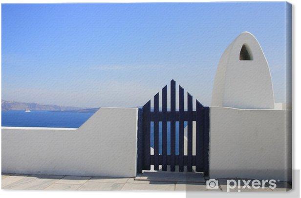 Tableau sur toile Porte de la mer - Europe