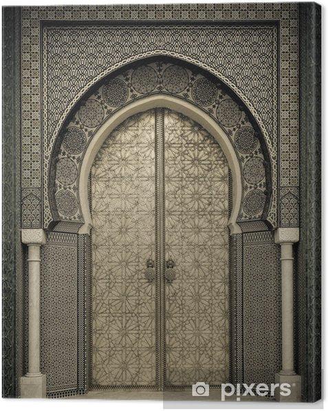 Tableau sur toile Portes anciennes, Maroc - Thèmes