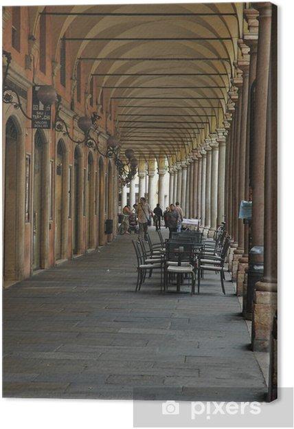 Tableau sur toile Portici del Collegio, Modène - Paysages urbains