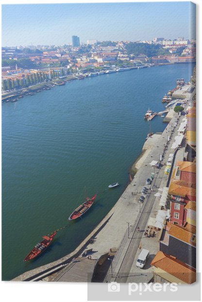 Tableau sur toile Porto portugal - Europe