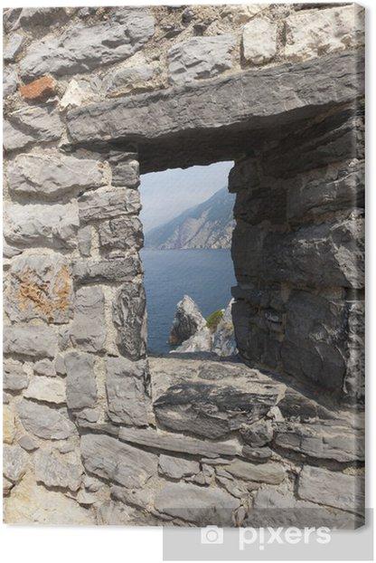 Tableau sur toile Portovenere, Italie - Eau