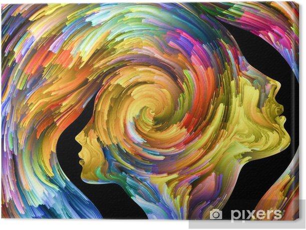 Tableau sur toile Portrait abstrait - Ressources graphiques