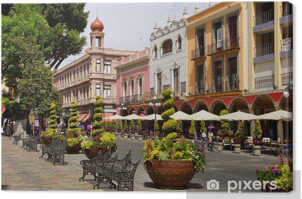 Tableau sur toile Puebla de Zaragoza - Amérique