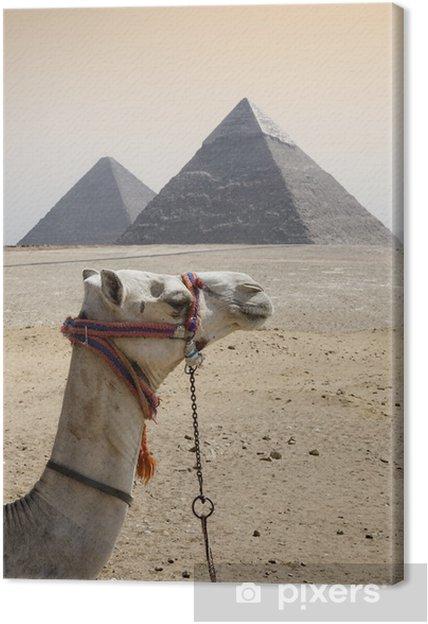 Tableau sur toile Pyramides - Afrique