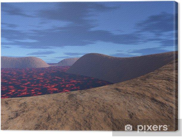 Tableau sur toile R32 - Catastrophes naturelles