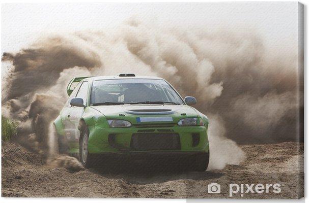 Tableau sur toile Rallye - Thèmes