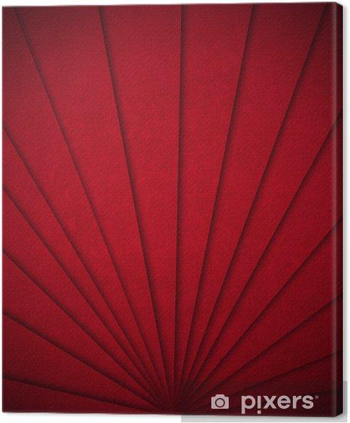 Tableau sur toile Red Velvet Fond abstrait - Réussite
