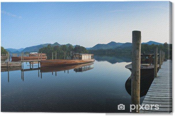 Tableau sur toile Réflexions, anglais Lake District - Europe