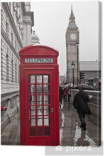 Tableau sur toile Regnerisches Londres - Thèmes
