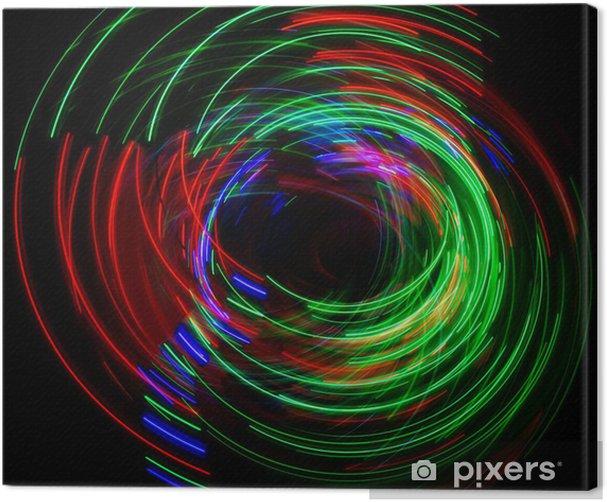 Tableau sur toile Répartition de la lumière abstraite - Abstrait