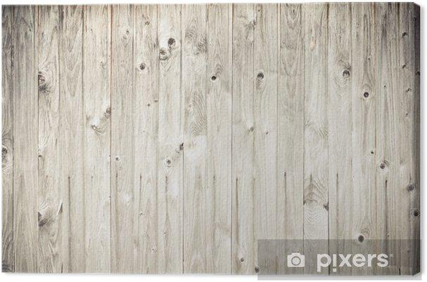 Tableau sur toile Résisté clôture planche de bois - Styles