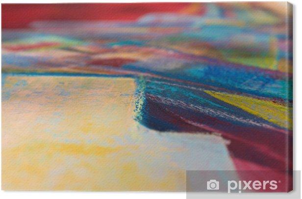 Tableau sur toile Résumé de fond d'huile - Art et création