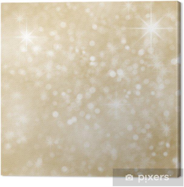 Tableau sur toile Résumé de Noël brille glitter background avec des étincelles - Styles