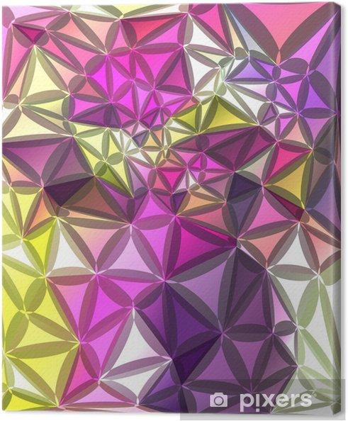 Tableau sur toile Résumé fond géométrique - Thèmes