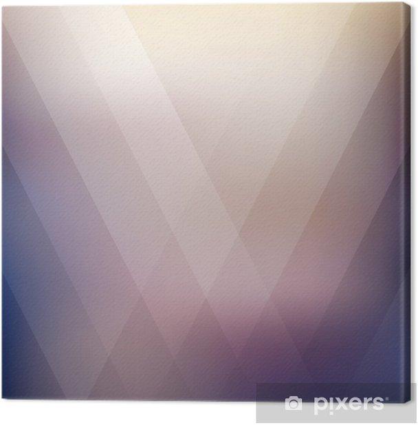 Tableau sur toile Résumé géométrique fond polygonale violet. Vector illustration - Ressources graphiques