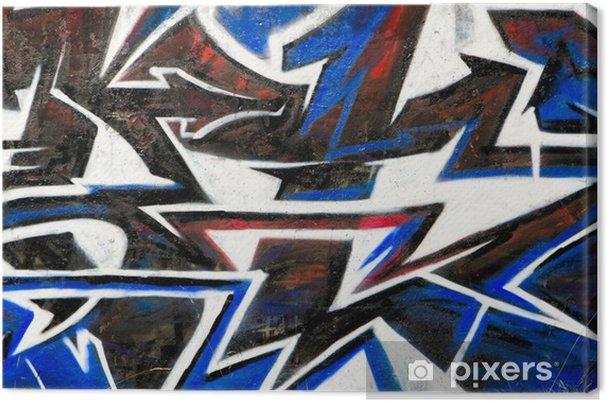 Tableau sur toile Résumé graffiti fond - Autres