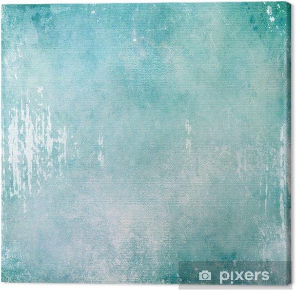 Tableau sur toile Résumé turquoise texture de fond - Arrière plans