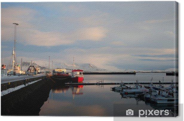 Tableau sur toile Reykjavik - Vacances