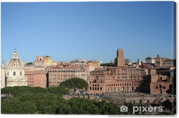 Tableau sur toile Roma - Forum Imperiali - Villes européennes