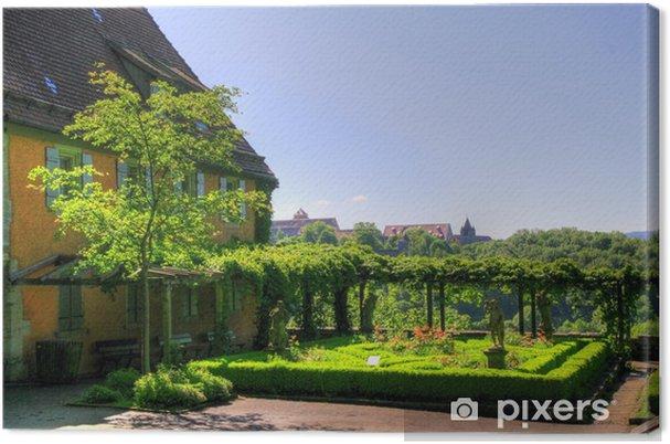 Tableau sur toile Rothenburg (cité médiévale) - Allemagne - Vacances