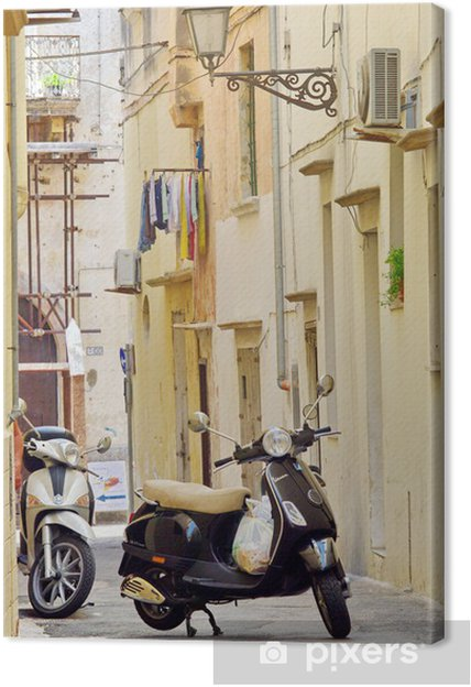 Tableau sur toile Ruelle du sud de l'italie - Europe