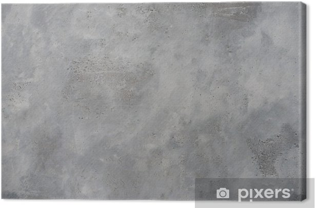 Tableau sur toile Rugueux mur gris texturé grunge de béton, haute résolution - Thèmes