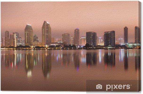Tableau sur toile San Diego Californie Côte Ouest des États-Unis d'horizon - Paysages urbains