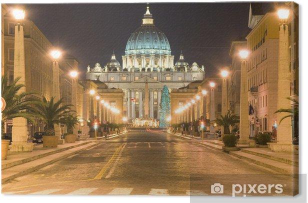 Tableau sur toile San Pietro, Vaticano, Roma - Thèmes