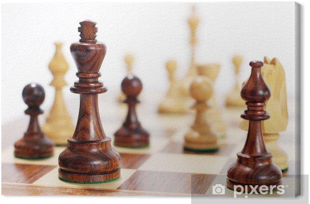 Tableau sur toile Schach - Jeux