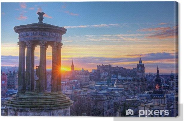 Tableau sur toile Scotland Edinburgh Calton Hill - Thèmes