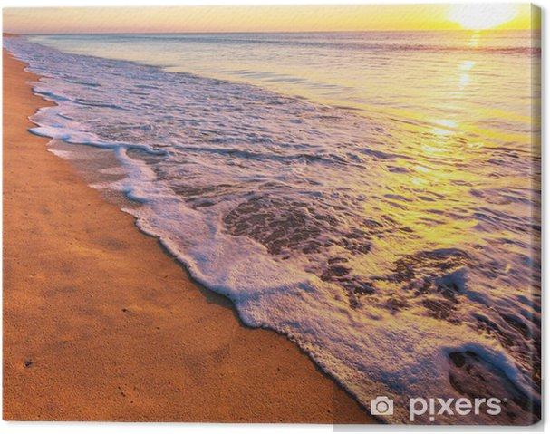 Tableau sur toile Sea sunset - Vacances
